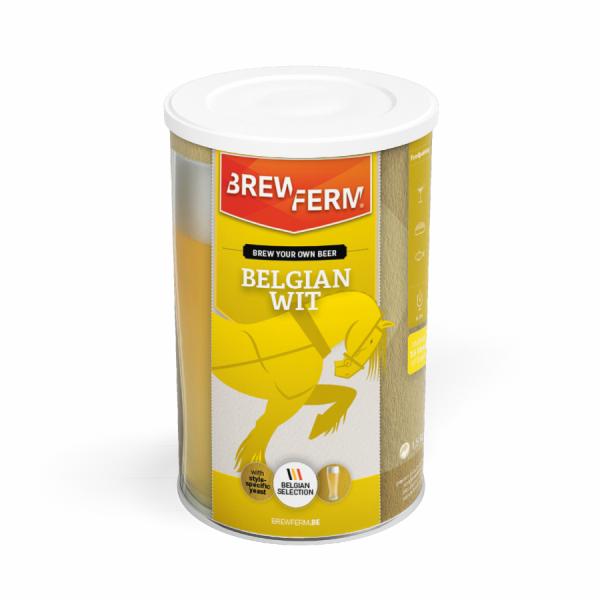 Brewferm Bierkit Malzextrakt - Belgian Wit für 15 Liter Bier