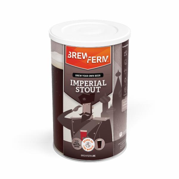 Brewferm Bierkit Malzextrakt - Imperial Stout für 9 Liter Bier