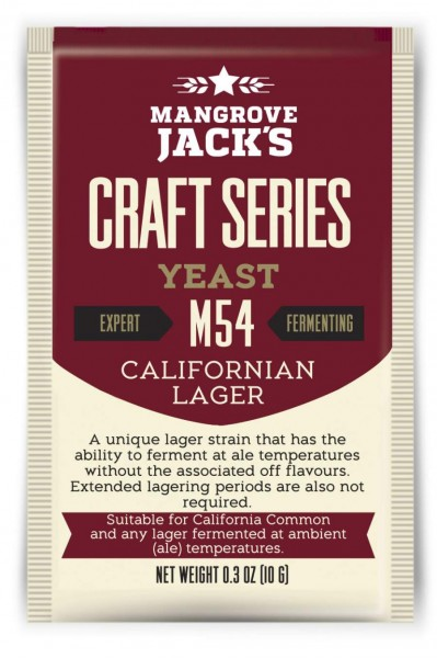 Mangrove Jack's Trockenhefe Californian Lager M54 - 10 g