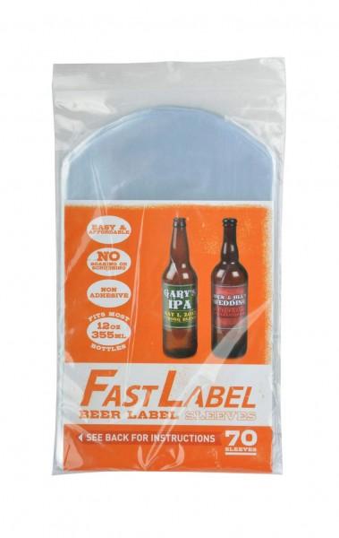 FastLabel Bieretikettierung für 330 ml Flaschen- 70 Stück