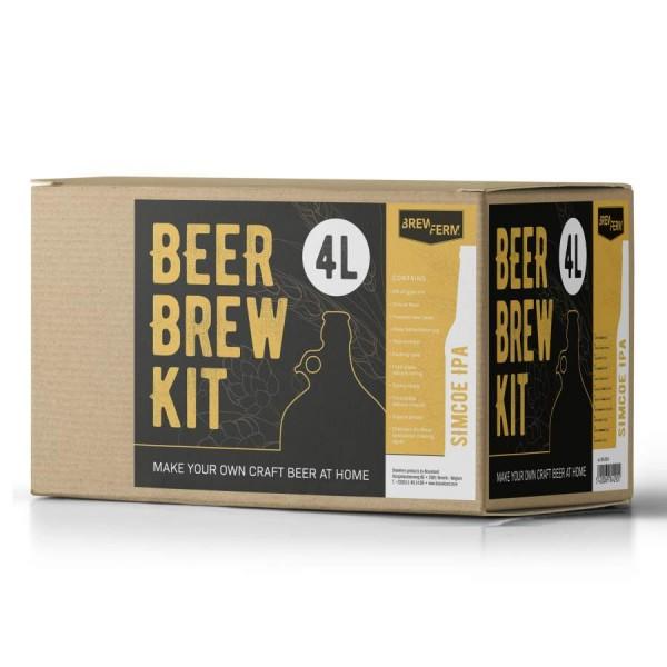 """Brauset """"Beer Brew Kit"""" - Simcoe IPA für 4 Liter Bier"""