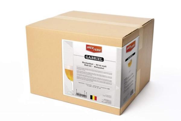 """Brewferm Braupaket Barley Belgisches Tripel """"Gabriel"""" für 20 Liter Bier"""