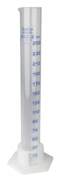 Messzylinder Glas graduiert - 250 ml