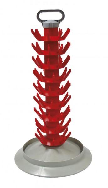 Abtropfständer Kunststoff FIW 81 Flaschen