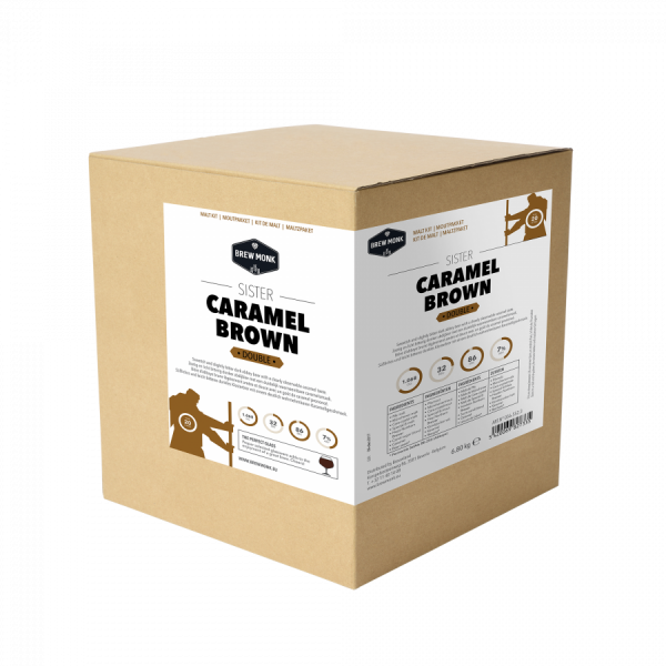 "Brew Monk Malzpaket ""Caramel Brown"" - Double, 20 L"