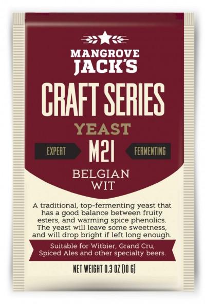 Mangrove Jack's Trockenhefe Belgian Wit M21 -10 g