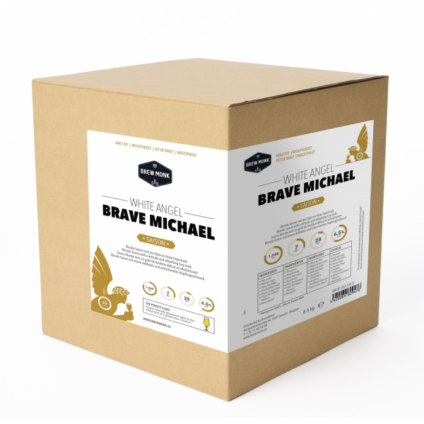 "Brew Monk Malzpaket ""White Angel Michael"" - Saison Bier, 20 L"