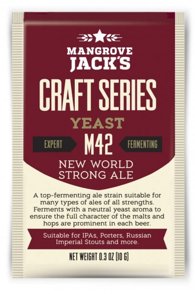 Mangrove Jack's Trockenhefe New World Strong Ale M42 - 10 g
