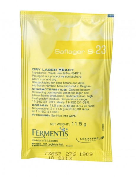 Fermentis Trockenhefe SafLager S-23 - 11.5 g