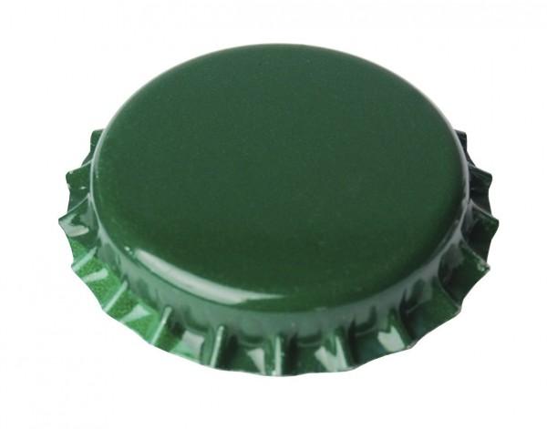 Brewferm Kronenkorken 26 mm - Grün, 100 Stück