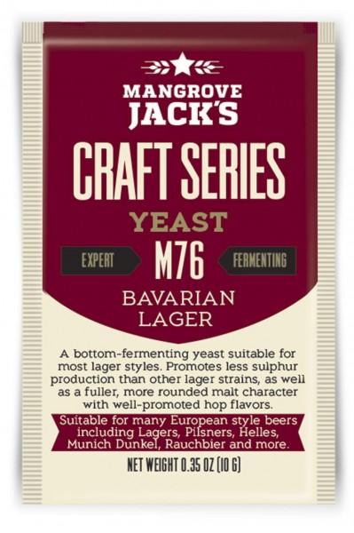 Mangrove Jack's Trockenhefe Bavarian Lager M76 - 10 g
