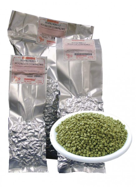 Brewferm Hopfenpellets Barbe Rouge 2017 - 100g