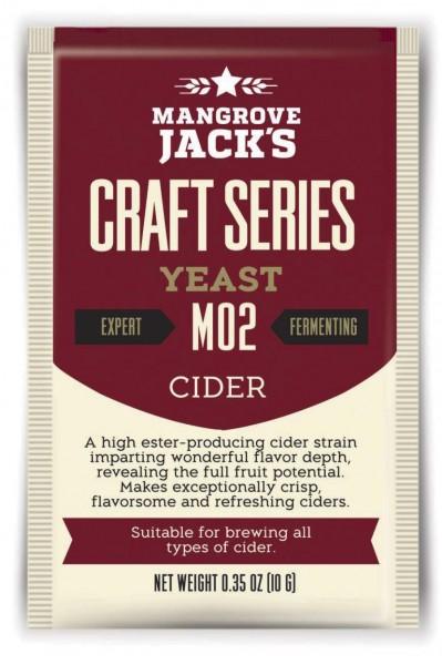 Mangrove Jack's Trockenhefe Cider M02 - 9 g