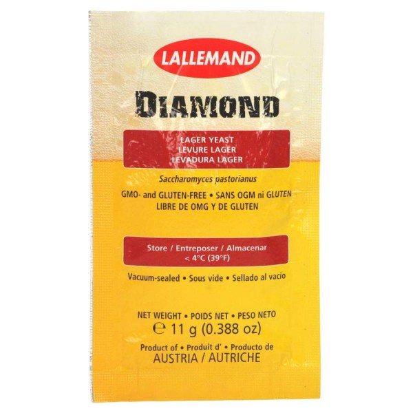 Lallemand Trockenhefe Diamond Lager - 11 g