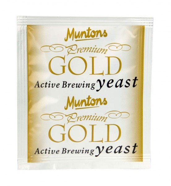 Muntons Trockenhefe Premium Gold - 6 g
