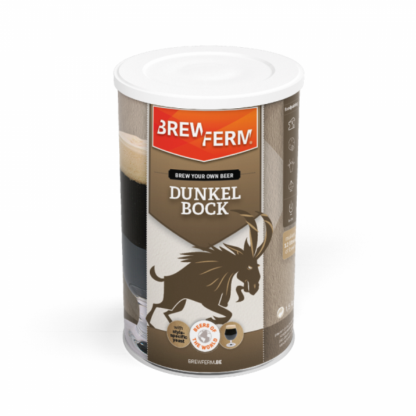 Brewferm Bierkit Malzextrakt - Dunkler Bock für 12 Liter Bier