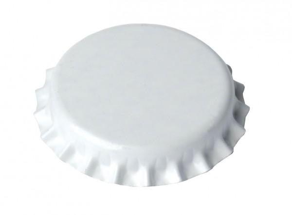 Brewferm Kronenkorken 26 mm- Weiß, 100 Stück