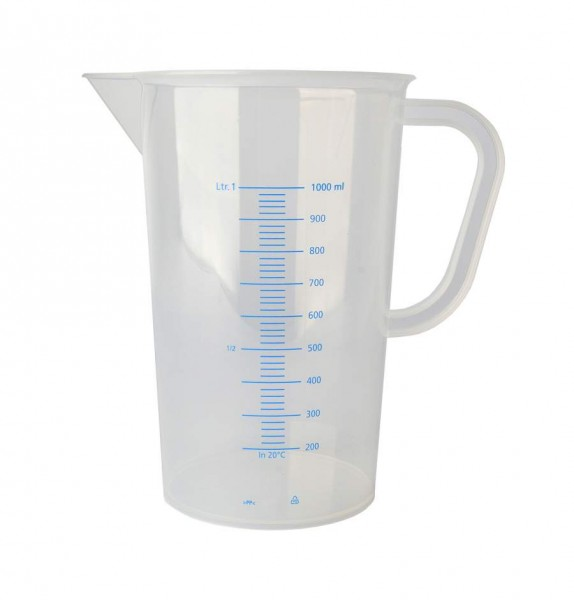 Messbecher Polypropylen graduiert - 1000 ml