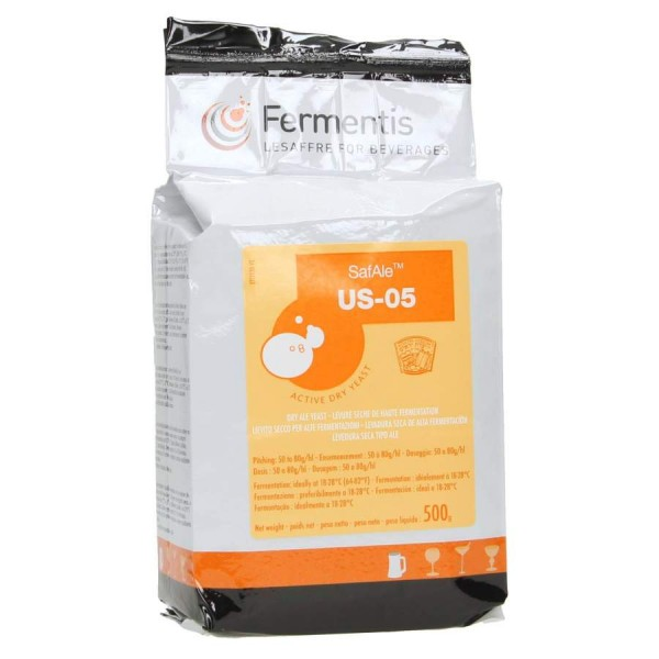 Fermentis Trockenhefe SafAle US-05 (56) - 500 g