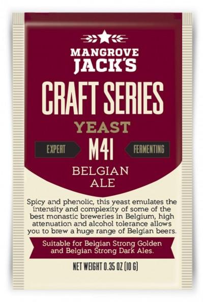 Mangrove Jack's Trockenhefe Belgian Ale M41 - 10 g