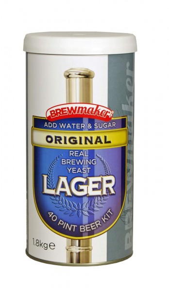 Brewmaker Bierpaket Original Lager 1,8 kg