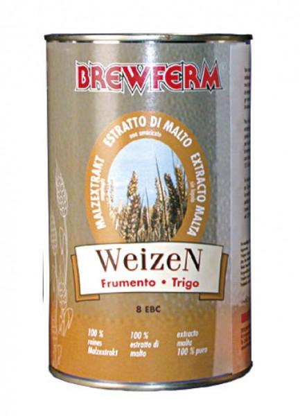 BREWFERM Malzextrakt Weizen - 1,5 kg, flüssig