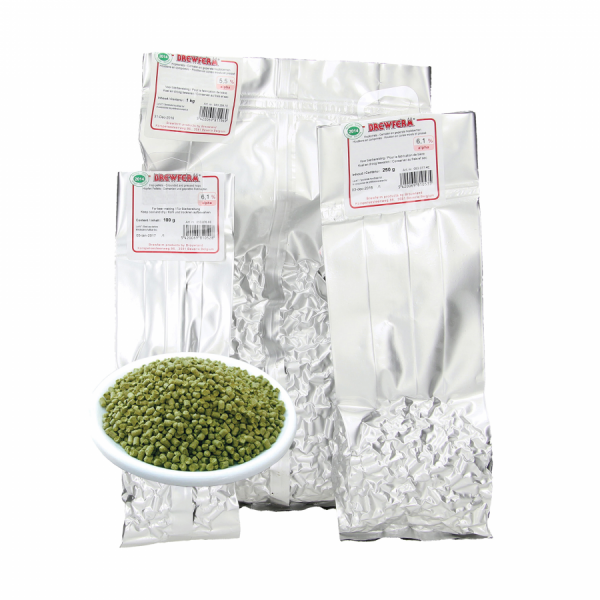 Brewferm Hopfenpellets Amarillo 2015 - 100 g