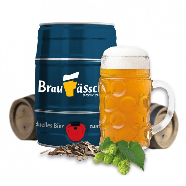 Braufässchen Festbier- 5 Liter Fass zum Selber Brauen