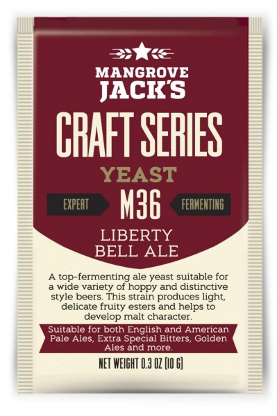 Mangrove Jack's Trockenhefe Liberty Bell Ale M36 - 10 g