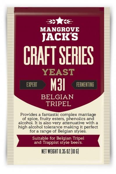 Mangrove Jack's Trockenhefe Belgian Tripel M31 - 10 g