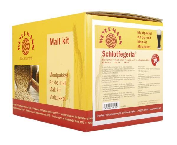 Weyermann Braupaket - Dunkles Rauchbier für 20 Liter Bier