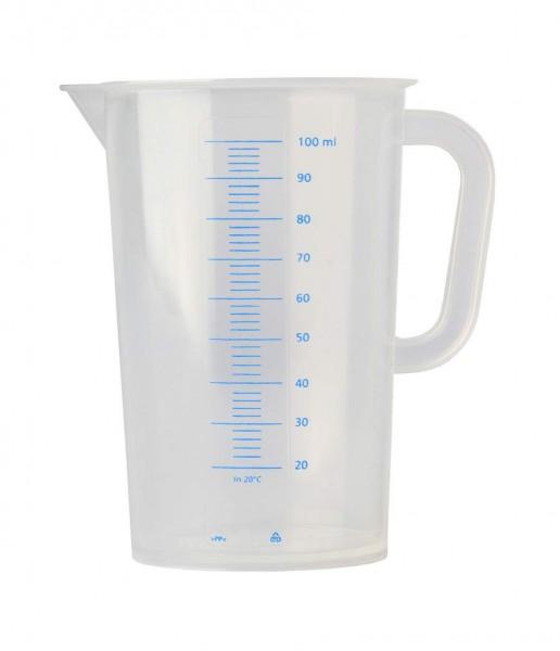Messbecher Polypropylen graduiert -100 ml