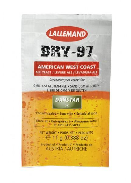 Lallemand Trockenhefe BRY-97 Pale Ale - 11 g