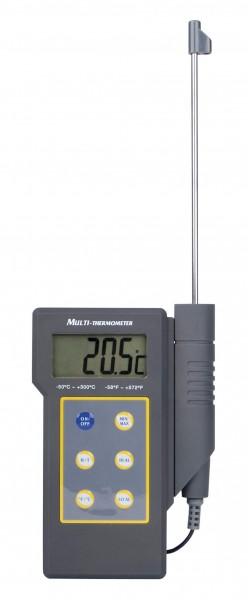 Präzises Digitalthermometer + Alarm - Themperaturbereich -50 bis +300°C