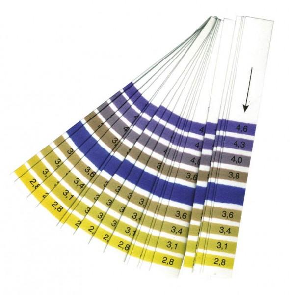 Vinoferm pH-Streifen 2,8-4,6 (Wein/Kombucha) - 20 Stück